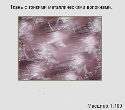 ткань с металлическими волокнами