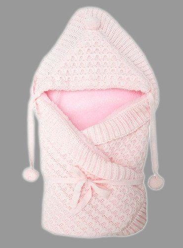 выписку вязаный на меху Ракушка розовый. Отзывы: 1, Рейтинг